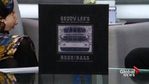 It's all about the bass in Geddy Lee's new book