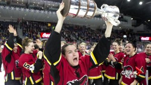 Calgary Inferno items up for grabs at auction