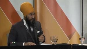 Jagmeet Singh treated as candidate to beat at NDP leadership debate in Newfoundland