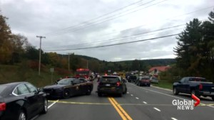 20 people dead after limo crashes into bystanders in New York's Schoharie County