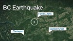 4.5-magnitude earthquake hits Fort St. John