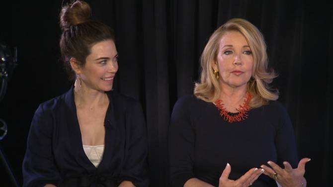 Melody Thomas Scott, Amelia Heinle talk 'Young and the Restless' longevity