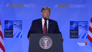'Stable genius': Trump says his NATO spending message won't change following summit