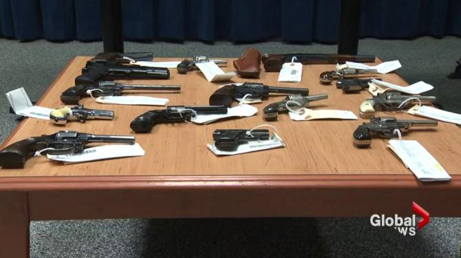 N S  man to serve 30 months in jail after police find arsenal of