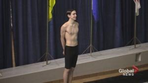 16-year-old Yukon boy breaking barriers in synchronized swimming