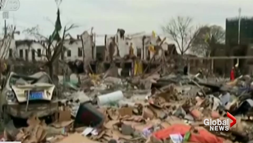 2 people dead, 30 injured in explosion in Eastern China