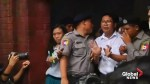 Myanmar court finds Reuters reports guilty of state secrets charges