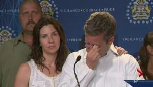 Family asks for son, parents back