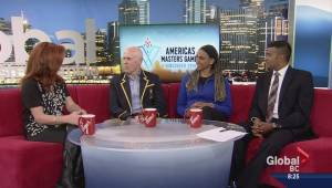 Countdown to Americas Masters Games in Vancouver