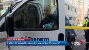 Toronto van incident 'consistent' with past incidents but does not mean it's terrorist attack: Gurski