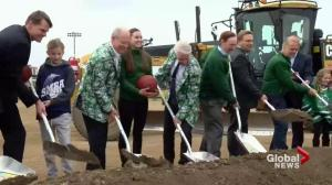Merlis Belsher Place groundbreaking at University of Saskatchewan