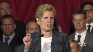 Kathleen Wynne tells Doug Ford: 'I haven't lost my way'