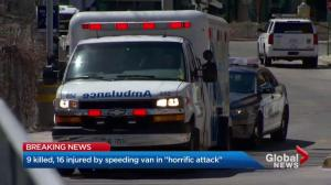 5 people in critical condition, 3 in serious at Toronto hospital after van attack