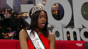 Miss Edmonton Jummy Ojekunle on Miss World Canada pageant