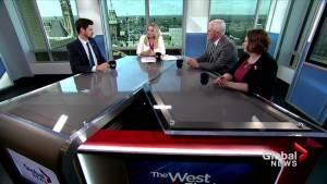 MPs debate the merits of the Liberal government's hallmark environmental bills