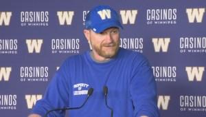 RAW: Blue Bombers Mike O'Shea Media Briefing – June 25