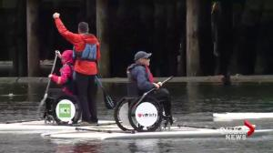 False Creek accessible paddling centre opens