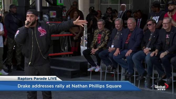 Premier Doug Ford booed by massive crowd celebrating Raptors Championship parade