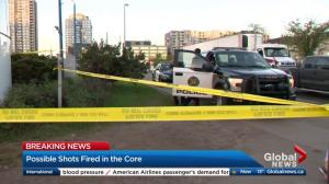 Police investigate 'disturbance' in downtown Calgary