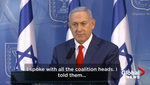 Benjamin Netanyahu warns coalition partners against bringing down government