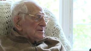 "He was just 23 years old, now 98, Rolland ""Rolly"" Durand tells his story of landing on Juno Beach"