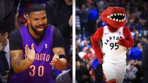 Who is the real Raptors mascot: Drake or The Raptor?