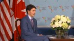 Pence thanks Trudeau for support of strikes in Syria