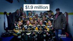 HumboldtStrong allocates $1.9M to Humboldt Broncos bus crash families