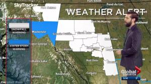 Global News at 5 Edmonton Weather Forecast: March 21