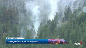Crews in Okanagan optimistic about fire fight