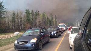 Fort McMurray fire intensifies Tuesday afternoon