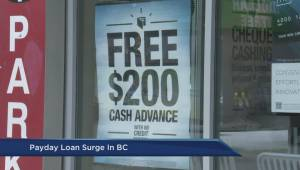 B.C. payday loans on the rise: Vancity report