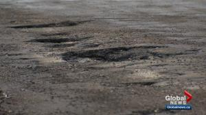This year's pothole season hitting Edmonton drivers hard