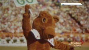 'Bring Back Gainer' petition trending online as Riders reveal mascot's new look (01:37)