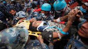 Alive teen rescued 5 days after Nepal earthquake