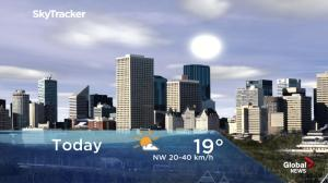 Edmonton early morning weather forecast: Monday, May 13, 2019