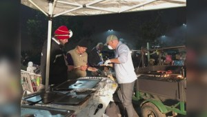 Penticton couple helping feed fire-affected residents in California