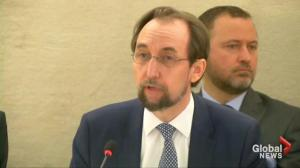 UN High Commissioner for Human Rights says Syria has become one large 'torture chamber'