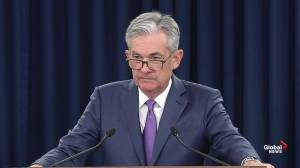 Powell says he's unable to say how much impact China-U.S. trade war may have on business confidence