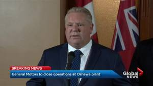 Premier to support Oshawa GM employees after plant closure