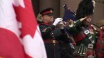 Hundreds gather at Old City Hall for Remembrance Day service