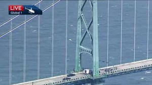 Lions Gate Bridge incident comes to an end