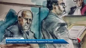 Suspected Toronto serial killer appears in court