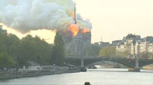 Notre Dame fire: What we know so far (01:12)