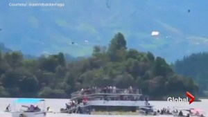 9 dead, 28 missing after tourist ferry sinks in Colombia