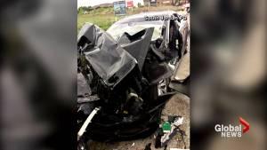 Tesla confirms driver had autopilot engaged before crash
