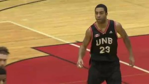 UNB basketball player enters record books