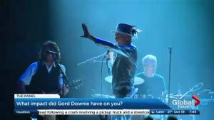 What impact did Gord Downie have on you?