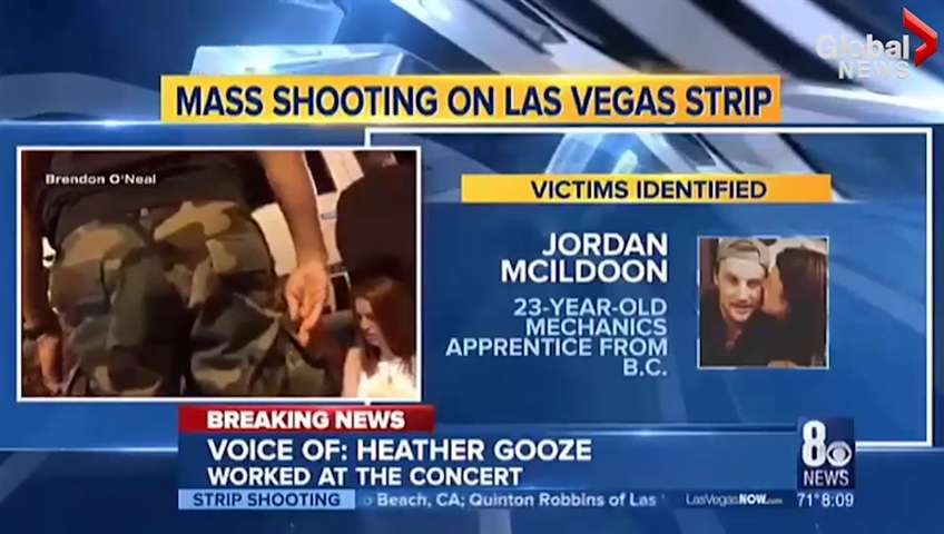 Alberta mother of four killed in Las Vegas mass shooting