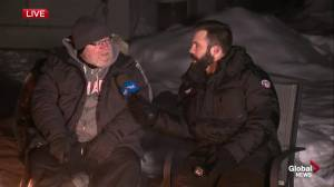 Edmonton's 'freezing father' 2019 camp-out in daughter's memory